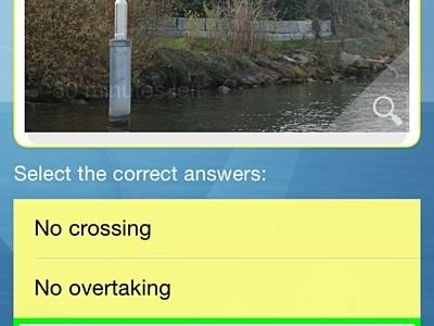 Video vorschau von Boattheory App with the new multiple choice system